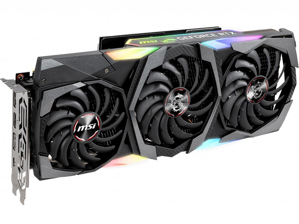 Видеокарта MSI GeForce RTX 2080 Ti 1755Mhz PCI-E 3.0 11264Mb 16000Mhz 352 bit HDMI 3xDP USB-C Gaming Z Trio