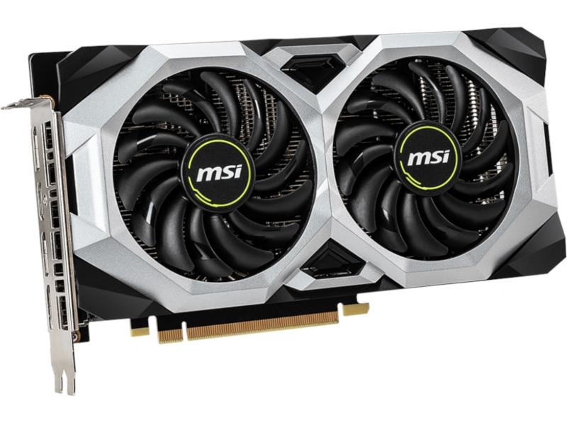 Видеокарта MSI GeForce RTX 2060 Super 1470Mhz PCI-E 3.0 8192Mb 14000Mhz 256 bit HDMI 3xDP RTX 2060 SUPER VENTUS XS C OC видеокарта msi geforce rtx 2060 1665mhz pci e 3 0 8192mb 14000mhz 256 bit hdmi 3xdp rtx 2060 super ventus gp oc 8gb