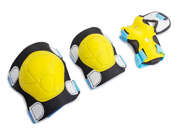 Комплект защиты Защита роликовая Start Up Fun Размер L Lime
