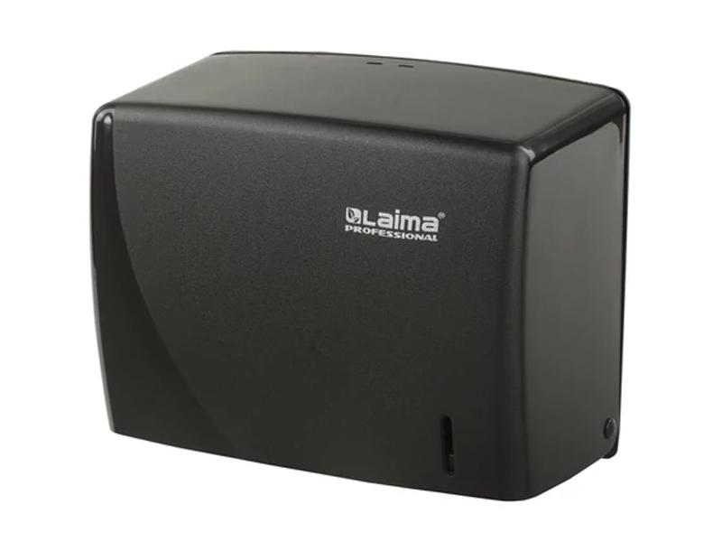 Диспенсер для полотенец Лайма Professional Original Black 605762