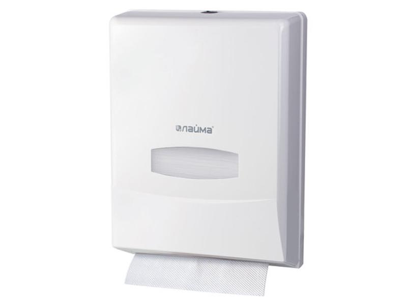 Диспенсер для полотенец Лайма Professional White 601425 диспенсер лайма professional original для покрытий на унитаз black 605786