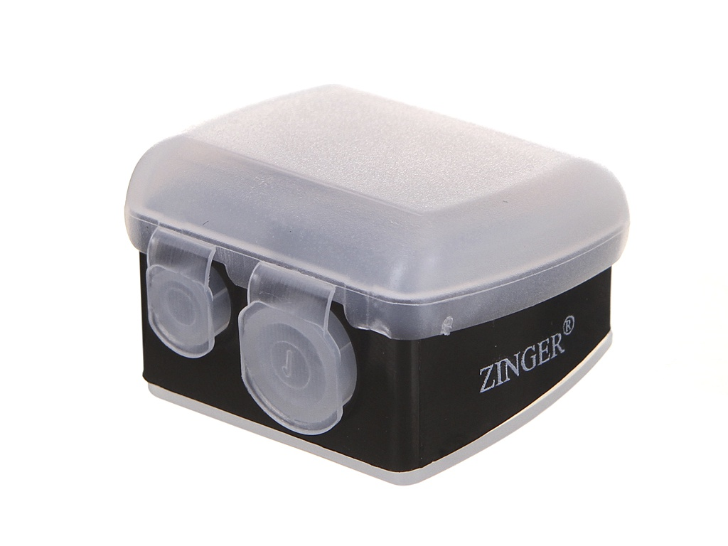 Точилка Zinger SH-19 White 18019 кусачки маникюрные zinger b 188 450 s sh lj