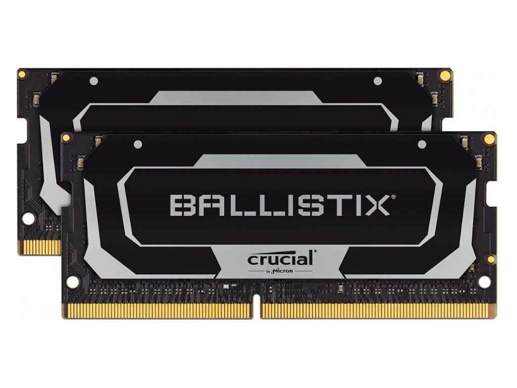 Модуль памяти Ballistix SO-DIMM DDR 4 DIMM 2400MHz PC19200 CL16 - 32Gb (2x16Gb) BL2K16G26C16S4B