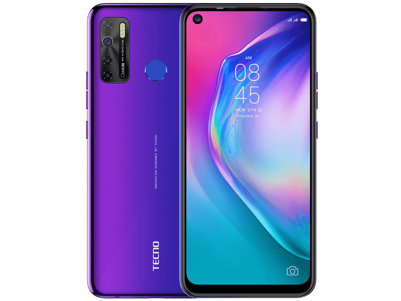 Сотовый телефон Tecno Camon 15 Fascinating Purple
