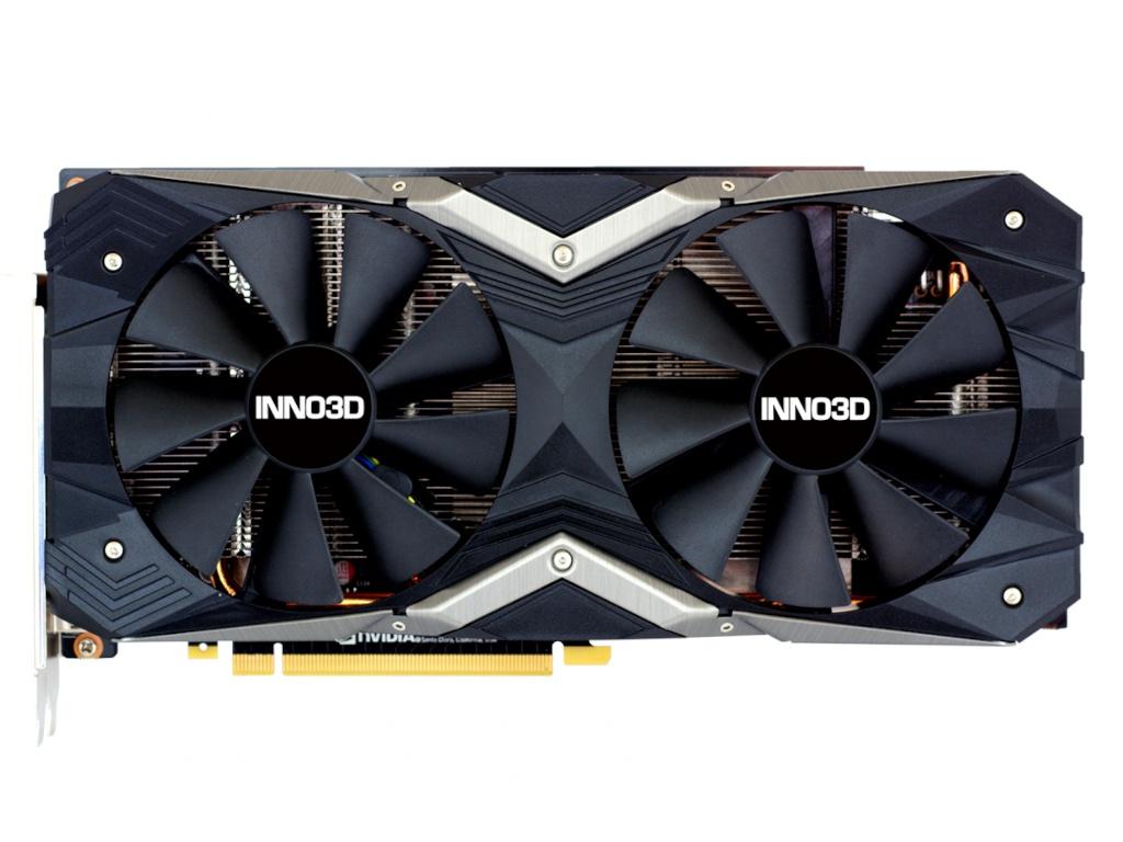 Видеокарта Inno3D GeForce RTX 2060 Super Gaming X2 OC 1470Mhz PCI-E 3.0 8192Mb 256-bit 3xDP HDMI HDCP N206S2-08D6X-17311165