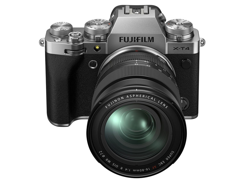 Фото - Фотоаппарат Fujifilm X-T3 Kit 16-80mm Silver цифровой фотоаппарат fujifilm x pro3 body dr silver