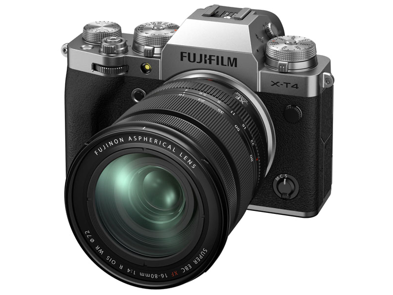 Фотоаппарат Fujifilm X-T4 Kit 16-80mm Silver фотоаппарат fujifilm finepix xp140 dark silver
