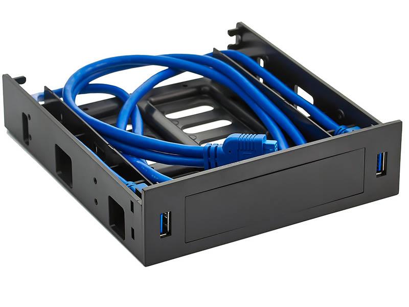 Салазки ExeGate HD-2U3 для установки HDD 2.5/3.5 в отсек 5.25 EX280445RUS