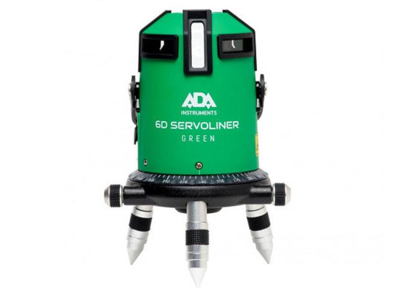 Нивелир ADA 6D Servoliner Green А00500