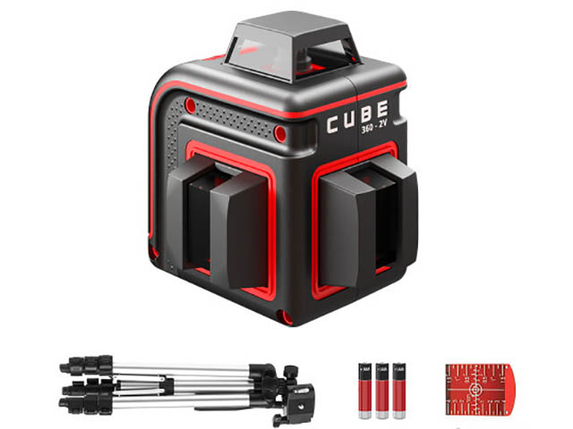 Нивелир ADA Cube 360-2V Professional Edition А00570