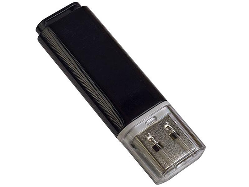 Фото - USB Flash Drive 32Gb - Perfeo C13 Black PF-C13B032 наушники perfeo flex черный pf btf blk