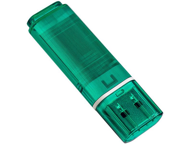 USB Flash Drive 32Gb - Perfeo C13 Green PF-C13G032 usb flash drive 16gb perfeo c13 blue pf c13n016