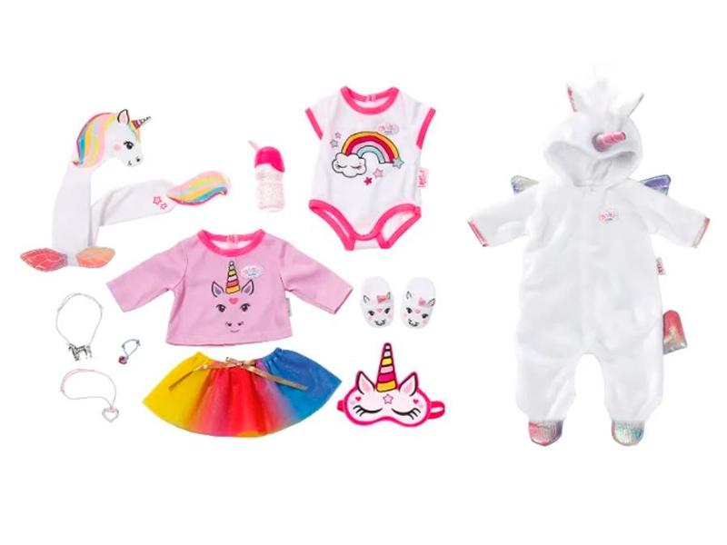 Одежда для куклы Zapf Creation Baby Born Сказочный Единорог 826-201