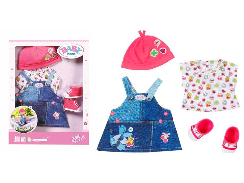 Одежда для куклы Zapf Creation Baby Born Джинсовая коллекция 824-498D