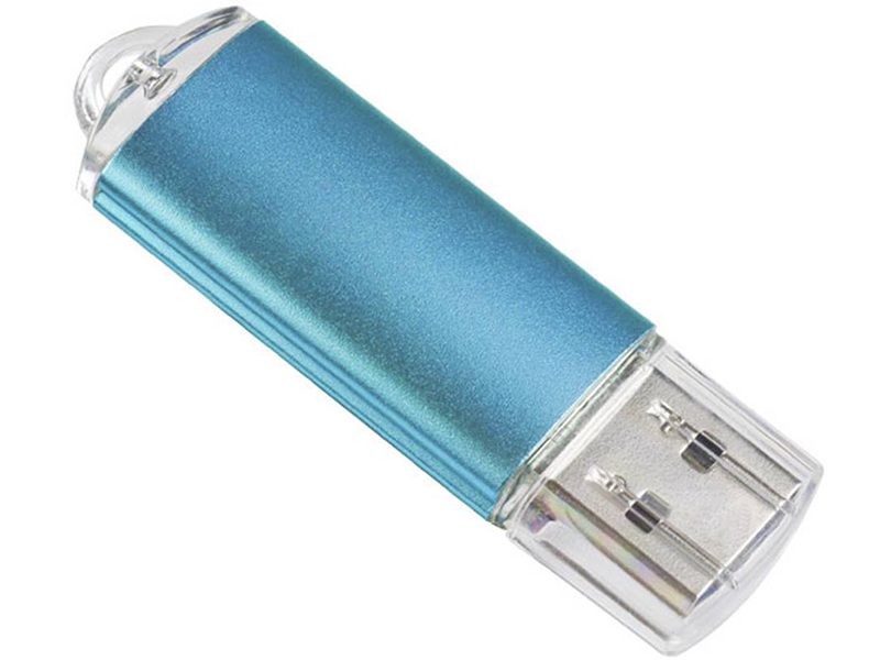 Фото - USB Flash Drive 4Gb - Perfeo E01 Blue Economy Series PF-E01N004ES usb flash drive 16gb perfeo e01 green pf e01g016es