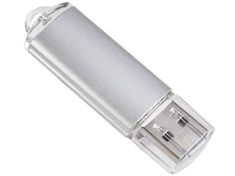 Фото - USB Flash Drive 64Gb - Perfeo E01 Silver Economy Series PF-E01S064ES usb flash drive 16gb perfeo e01 green pf e01g016es
