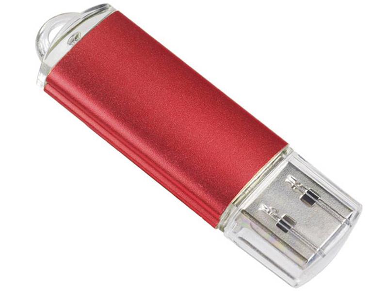 USB Flash Drive 8Gb - Perfeo 8GB E01 Red Economy Series PF-E01R008ES
