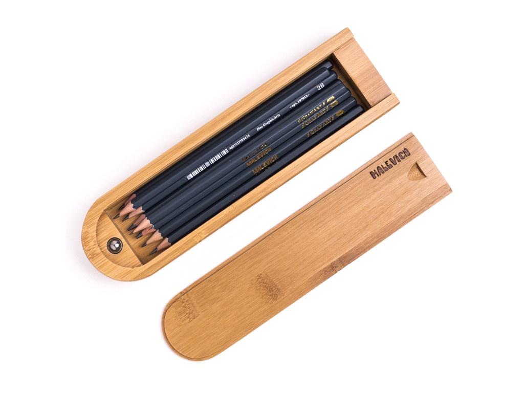 Набор чернографитных карандашей Малевичъ 830218