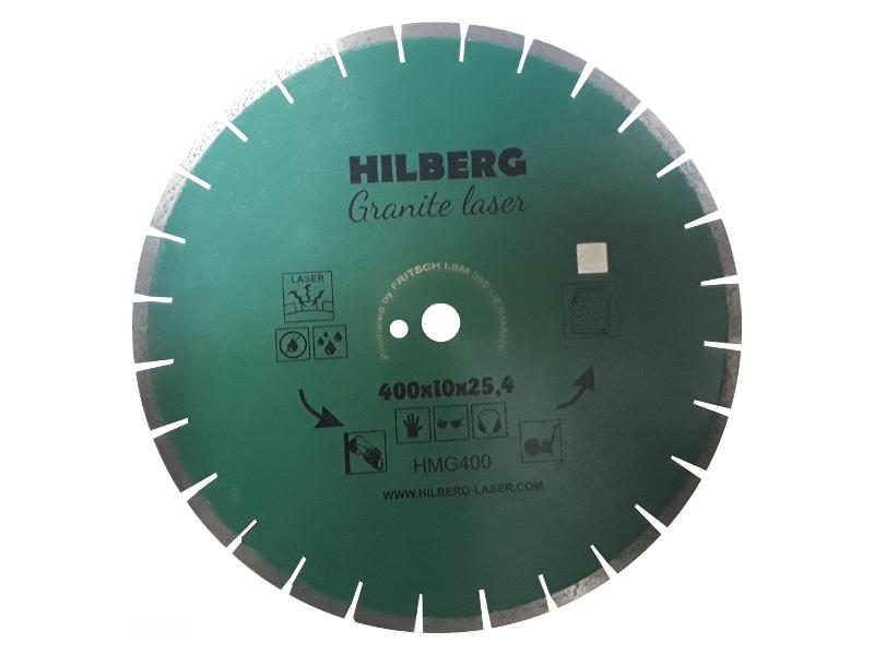 Диск Trio Diamond Hilberg Granite Laser HMG400 400x10x25.4x12mm