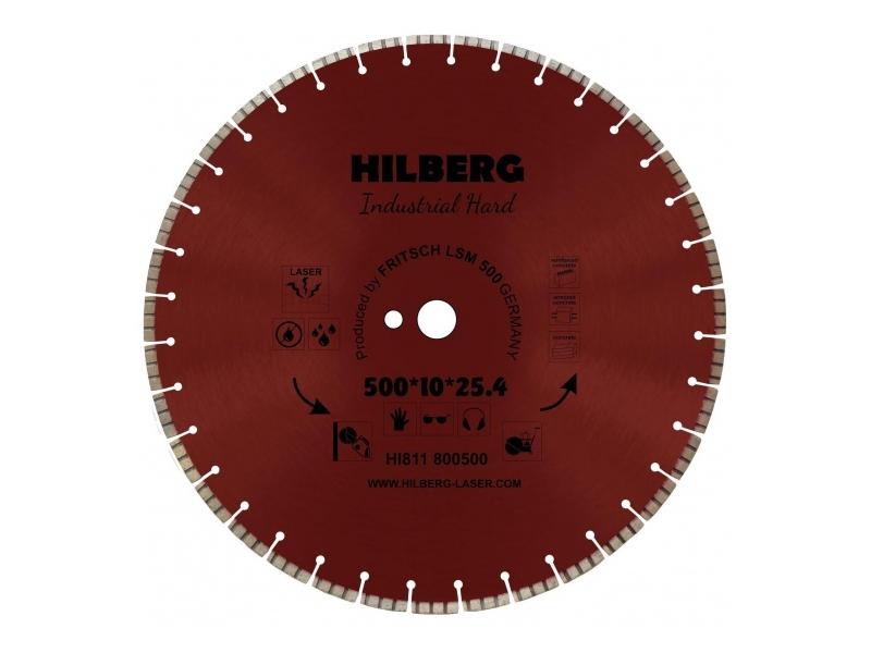 Диск Trio Diamond Hilberg Industrial Hard Laser HI811 500x10x25.4x12mm