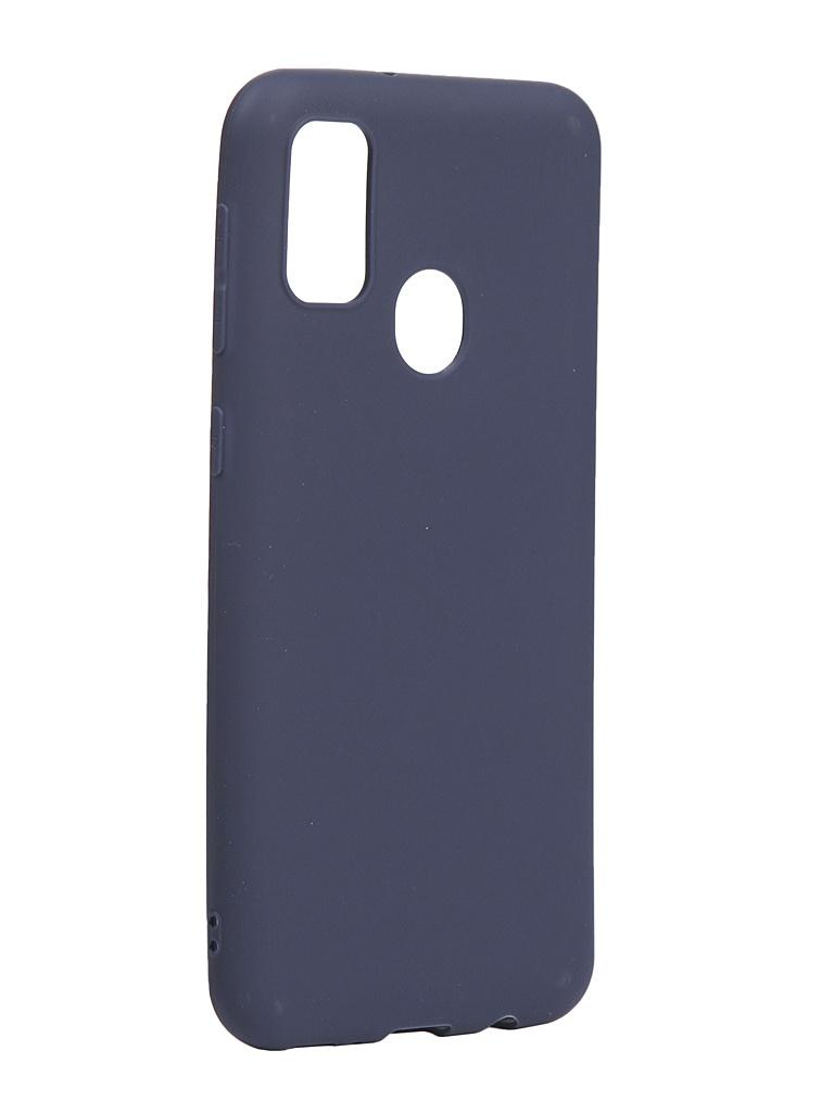 Чехол Neypo для Samsung Galaxy M21/M30s 2020 Soft Matte Silicone Dark Blue NST16159