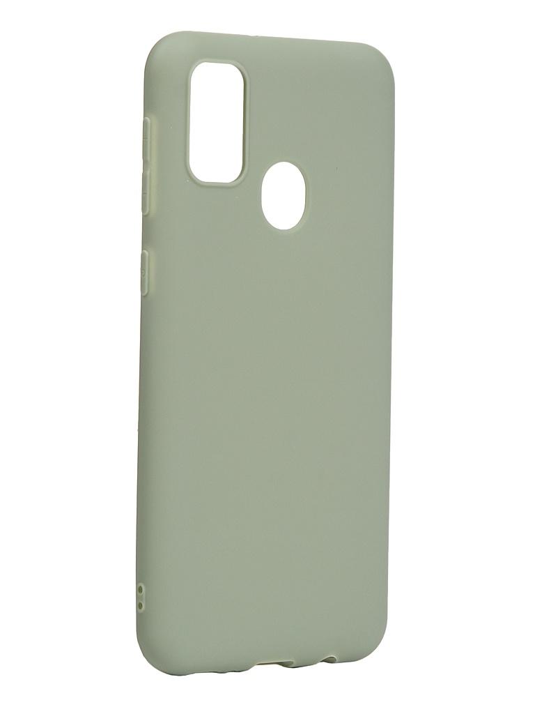 Чехол Neypo для Samsung Galaxy M21/M30S 2020 Soft Matte Silicone Olive NST17624