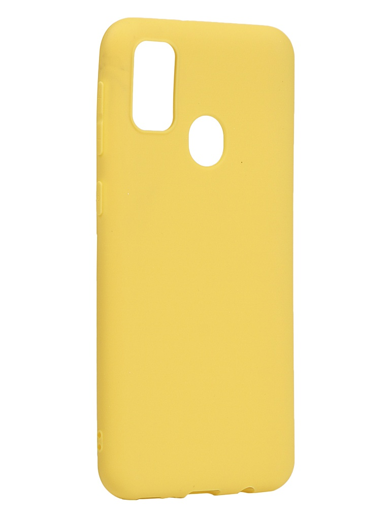 Чехол Neypo для Samsung Galaxy M21/M30s 2020 Soft Matte Silicone Yellow NST16156