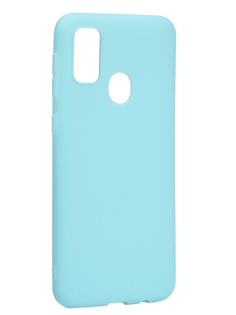 Чехол Neypo для Samsung Galaxy M21/M30s 2020 Soft Matte Silicone Turquoise NST16155