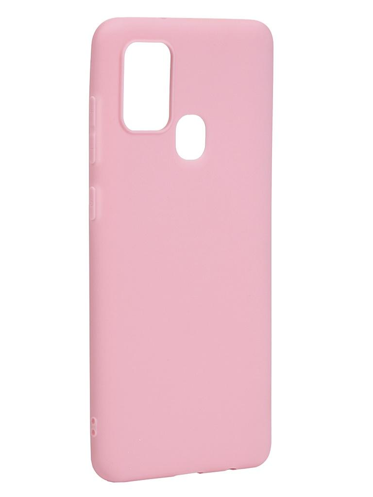 Чехол Neypo для Samsung Galaxy A21s 2020 Soft Matte Silicone Pink NST17619
