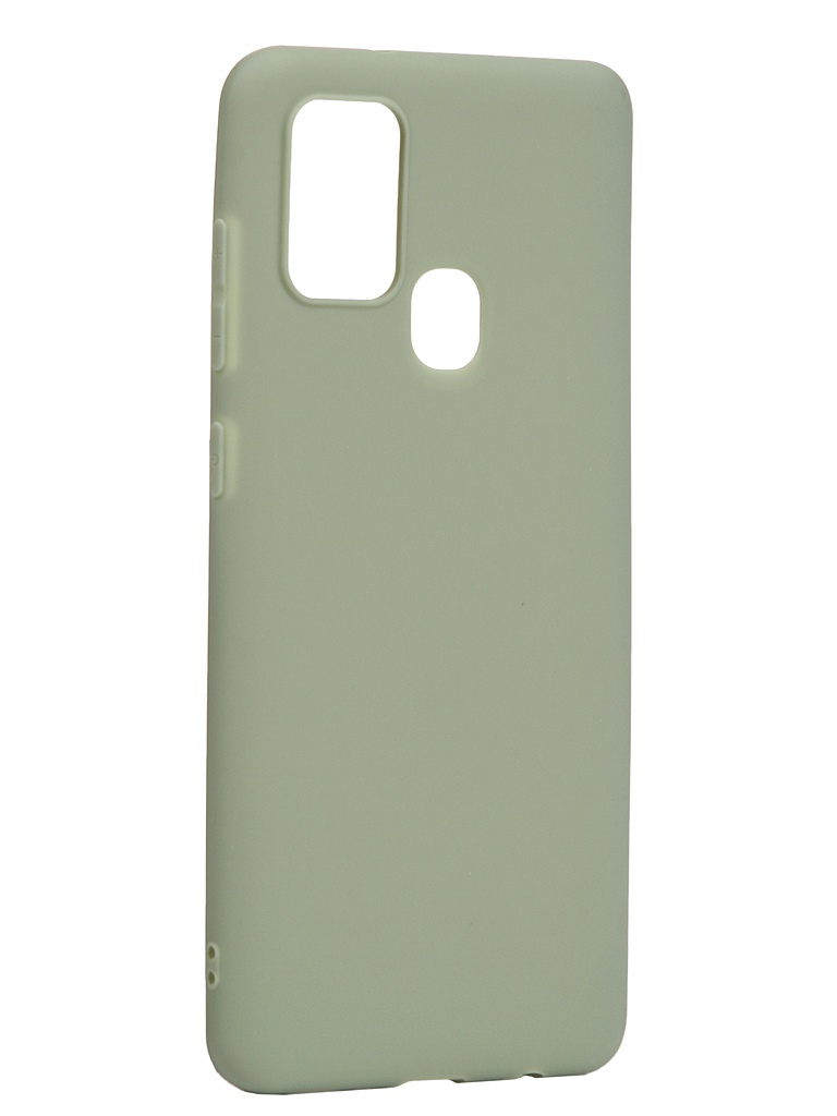 Чехол Neypo для Samsung Galaxy A21s 2020 Soft Matte Silicone Olive NST17618
