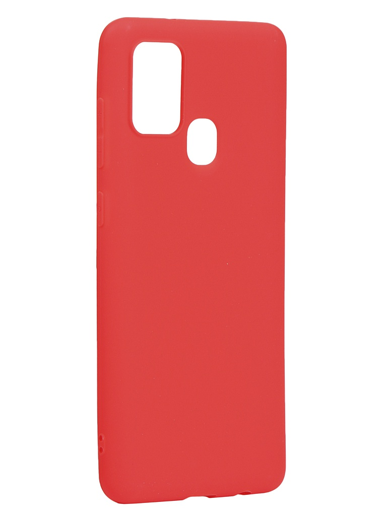 Чехол Neypo для Samsung Galaxy A21s 2020 Soft Matte Silicone Red NST17620