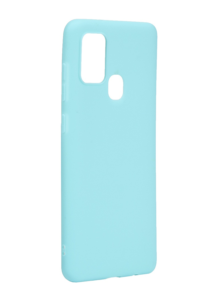 Чехол Neypo для Samsung Galaxy A21s 2020 Soft Matte Silicone Turquoise NST17622