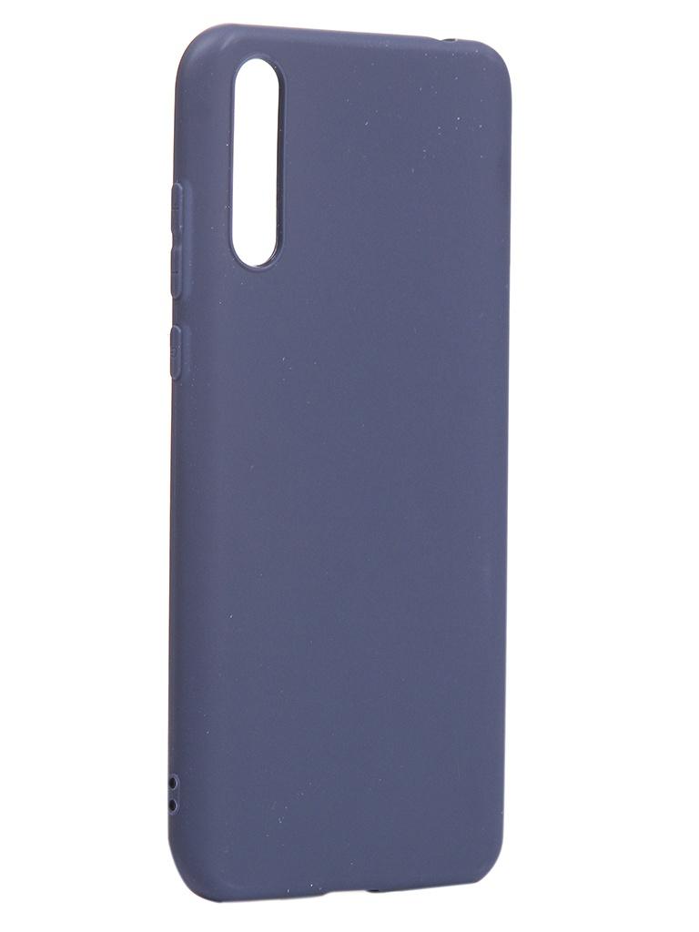Чехол Neypo для Huawei Y8p 2020 Soft Matte Silicone Dark Blue NST17595