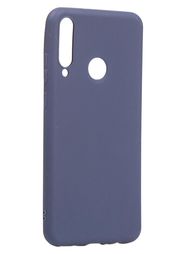 Чехол Neypo для Huawei Y6p 2020 Soft Matte Silicone Dark Blue NST17592 аксессуар чехол neypo для huawei y6 prime 2018 soft matte dark blue nst4621