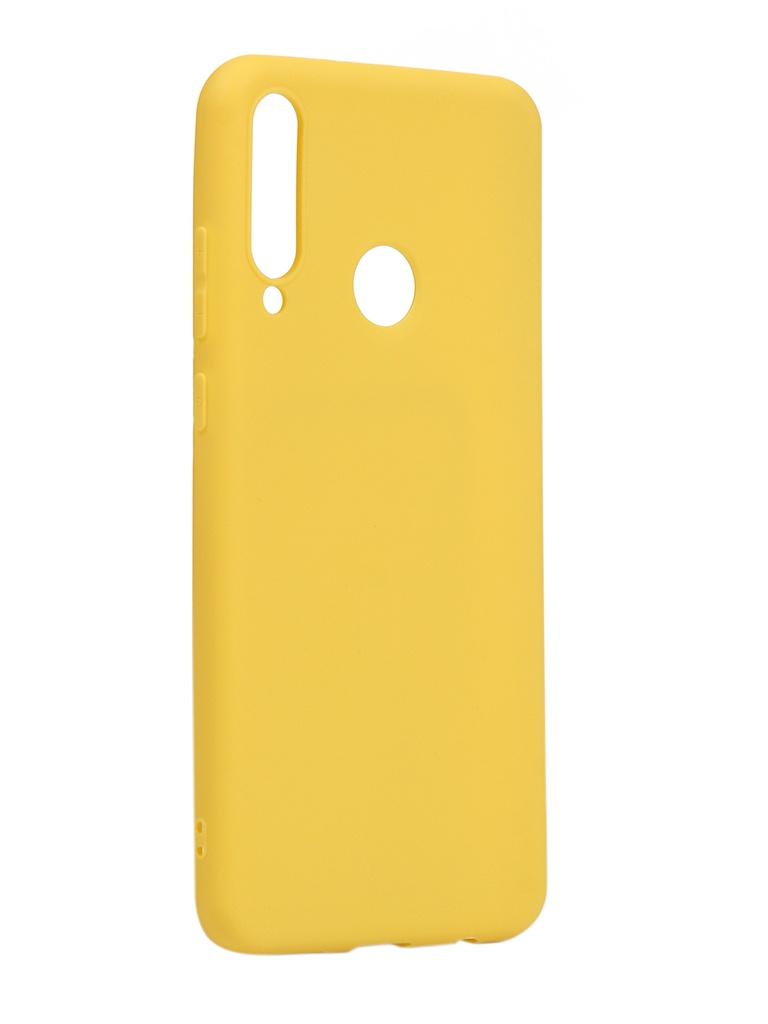 Чехол Neypo для Huawei Y6p 2020 Soft Matte Silicone Yellow NST17590
