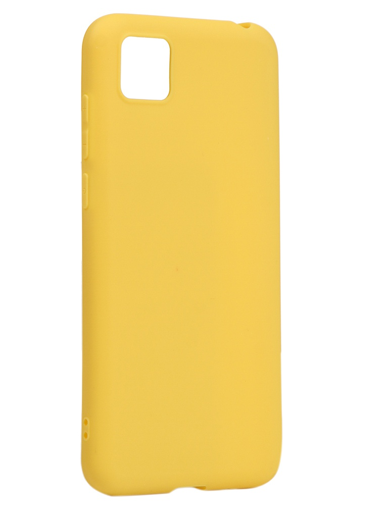 Чехол Neypo для Huawei Honor 9S/Y5p Soft Matte Silicone Yellow NST17578