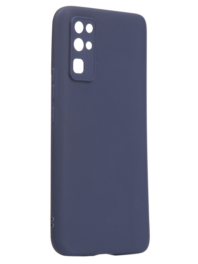 Чехол Neypo для Huawei Honor 30 Soft Matte Silicone Dark Blue NST17605