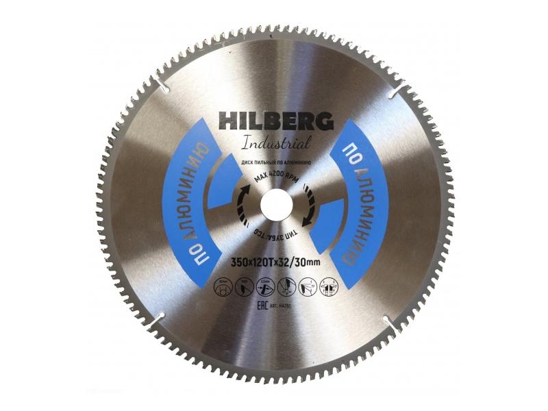 Диск Trio Diamond Hilberg Industrial HA350 пильный по алюминию 350x32/30mm 120 зубьев