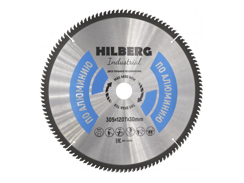 Диск Trio Diamond Hilberg Industrial HA305 пильный по алюминию 305x30mm 120 зубьев