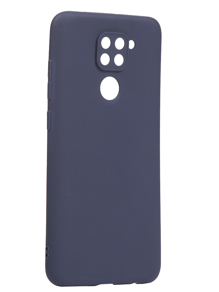 Чехол Neypo для Xiaomi Redmi Note 9 Soft Matte Silicone Dark Blue NST17625