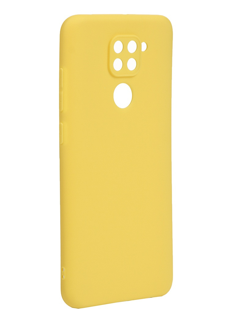 Чехол Neypo для Xiaomi Redmi Note 9 Soft Matte Silicone Yellow NST17629