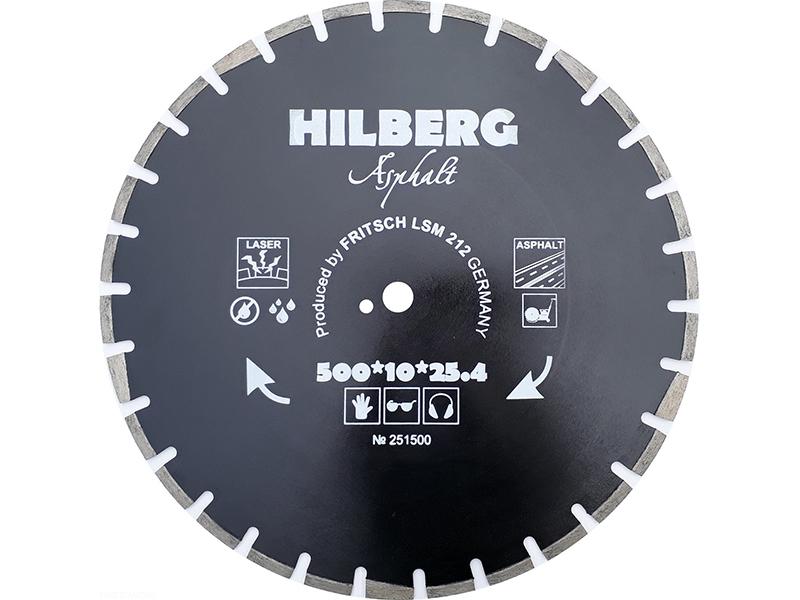 Диск Trio Diamond Hilberg Asphalt Laser HM311 алмазный отрезной по асфальту 500x11x25.4/12mm
