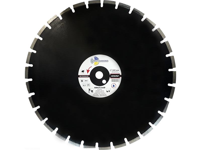 Диск Trio Diamond Grand Asphalt GA776 алмазный по асфальту 500x10x25.4/12mm