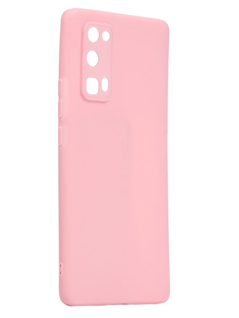 Чехол Neypo для Huawei Honor 30 Pro Soft Matte Silicone Pink NST17614