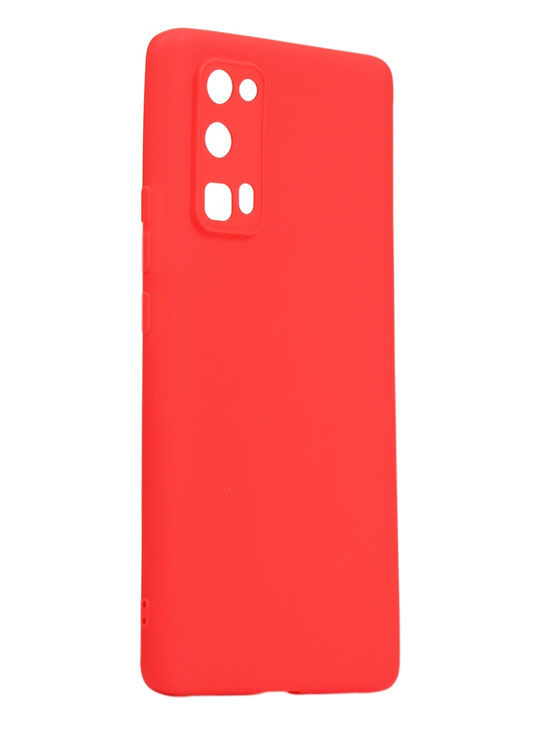 Чехол Neypo для Huawei Honor 30 Pro Soft Matte Silicone Red NST17612