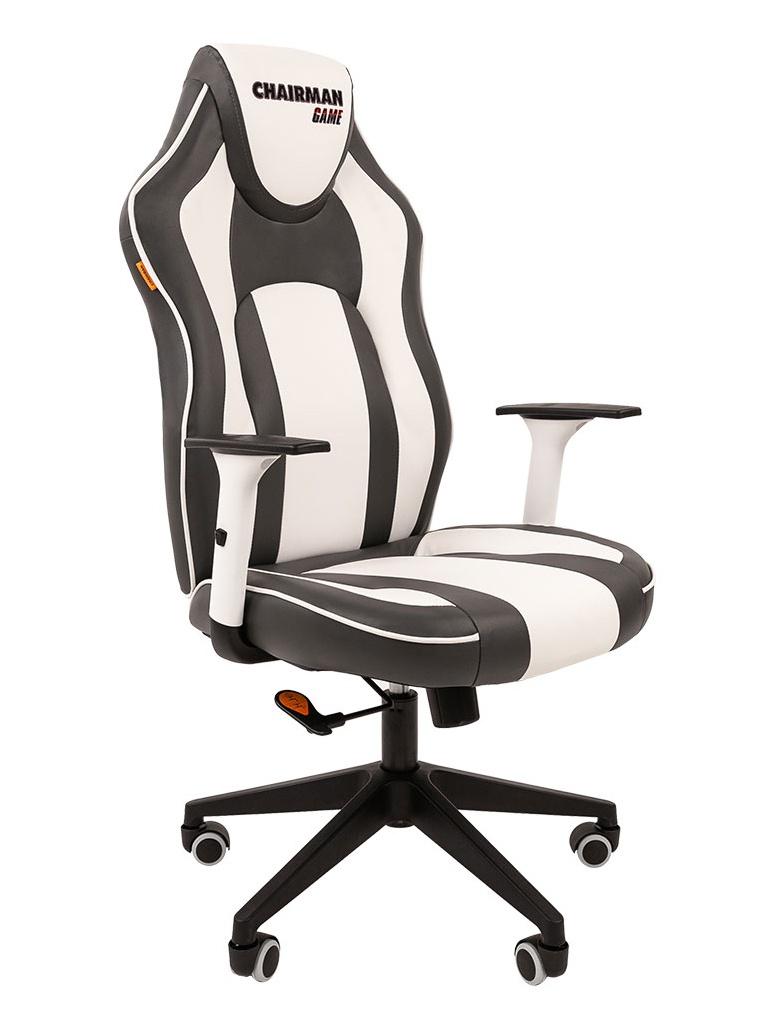 Компьютерное кресло Chairman Game 23 Grey-White 00-07053956