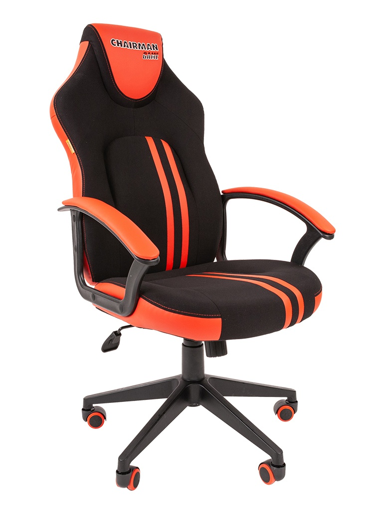 Компьютерное кресло Chairman Game 26 Black-Red 00-07053961