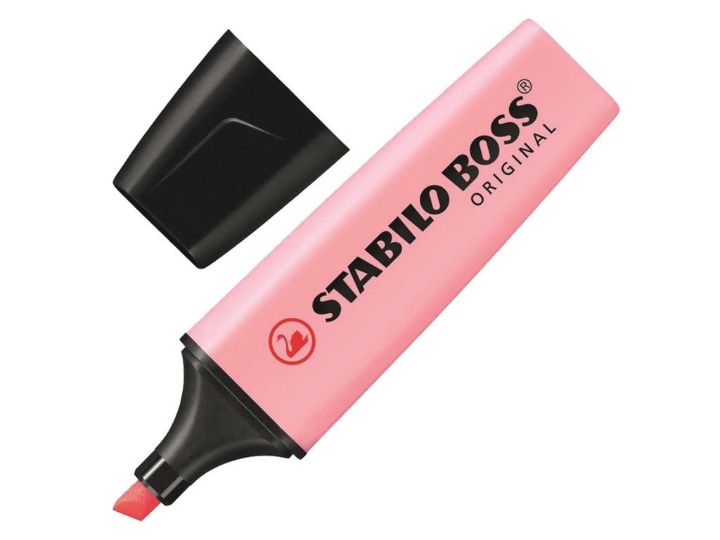Маркер Stabilo Boss Pastel 2-5mm Pink 70/129