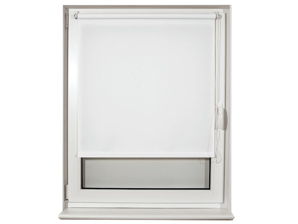 Штора рулонная Brabix 40x175cm Лён White S-5 / 605970