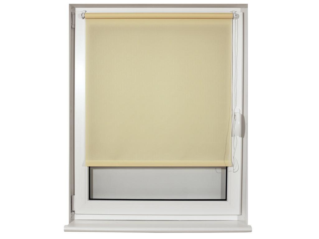 Штора рулонная Brabix 70x175cm Лён Cream S-21 / 605988